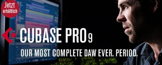 Studio Update: Cubase Pro 9